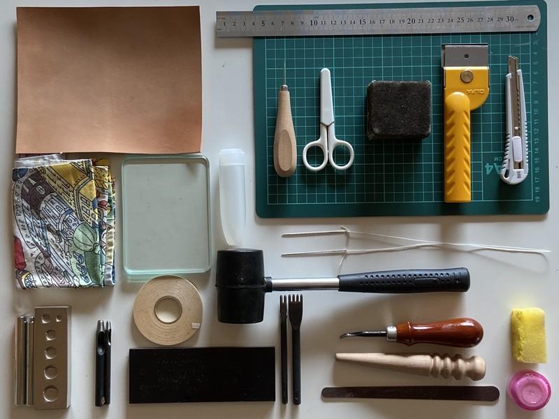 【オンライン】はじめてのレザークラフト「見て学ぶ」本革・手縫いの画像