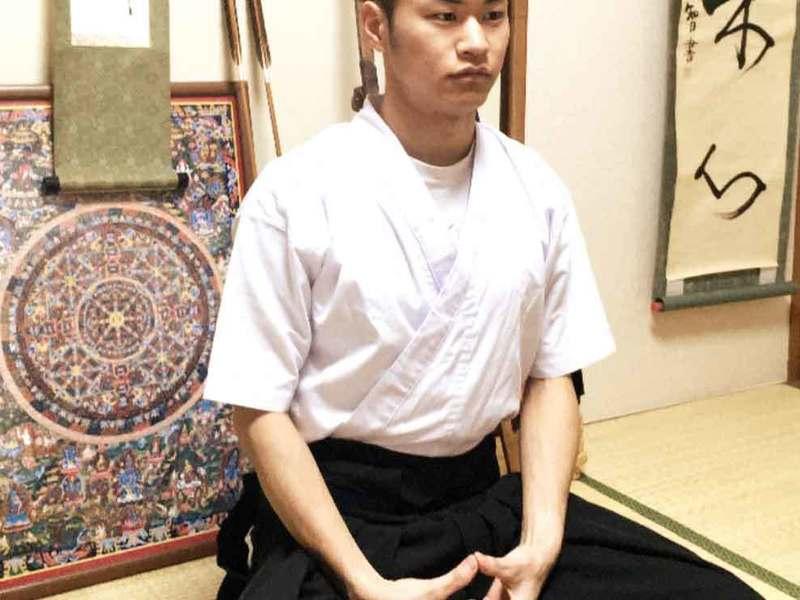 <オンライン体験> 弓道家による座禅&ヨガの画像