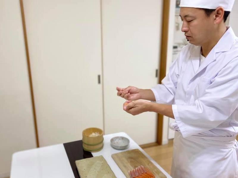 本格的な握り寿司をオンライン講座で体験しませんか?極上ネタを宅配。の画像