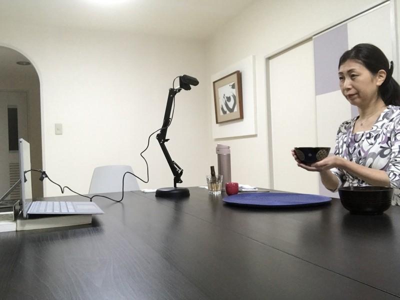 【オンライン】おうちでテーブル茶道体験の画像