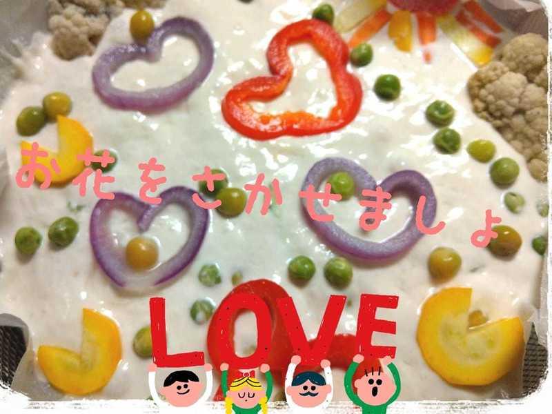 簡単ぱんの作り方 砂糖も油分も不要楽々お絵かきぱんの画像