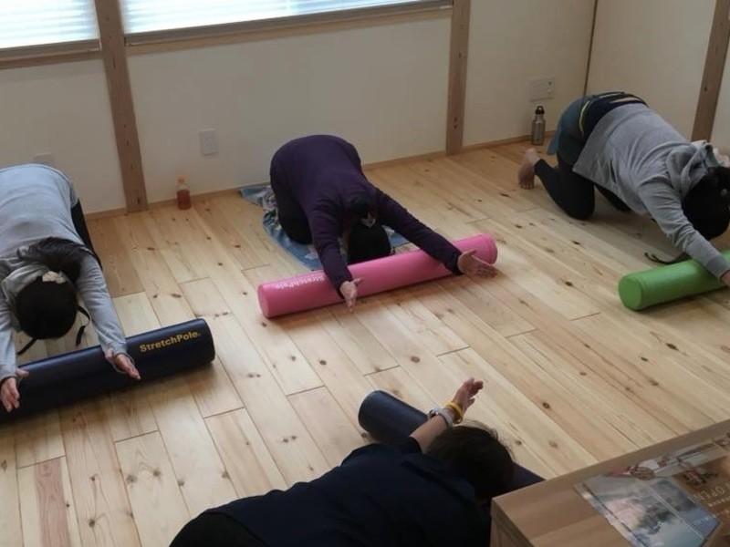ストレッチポールで姿勢改善!動きやすい体を手に入れよう!の画像