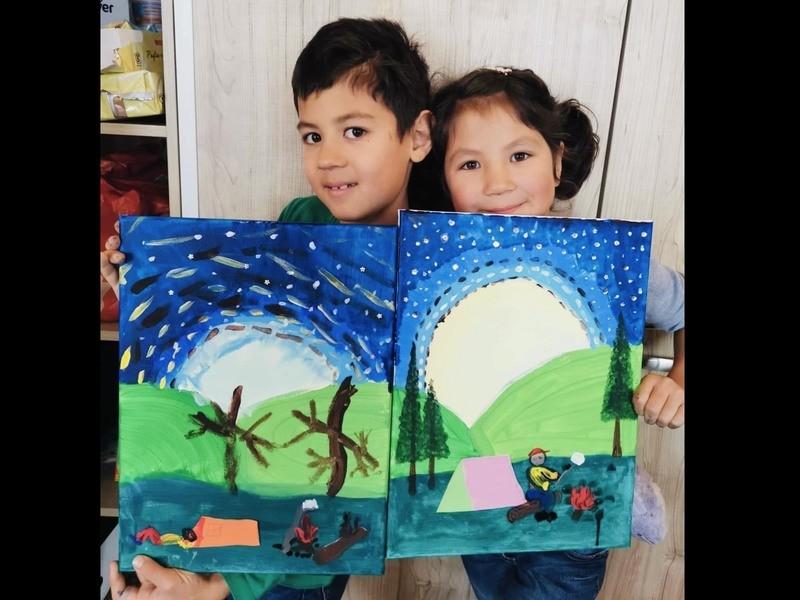 【中国語&英語で子供アート】工作・図工・絵画を学ぶの画像