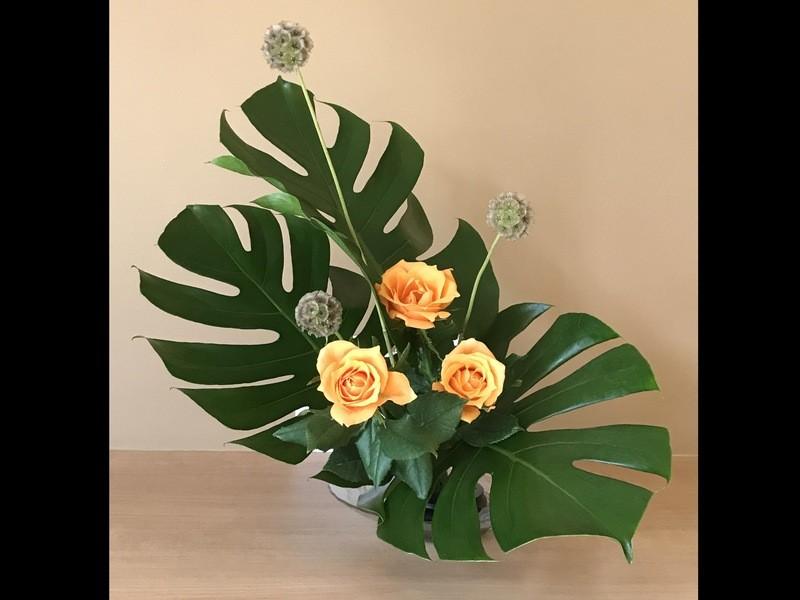 〜オンライン〜 お花のある生活へ!季節の花を使った生け花講座!の画像