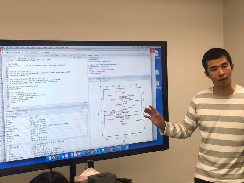 エクセルとRを駆使!ストーリーに沿ってデータ分析追体験講座!の画像