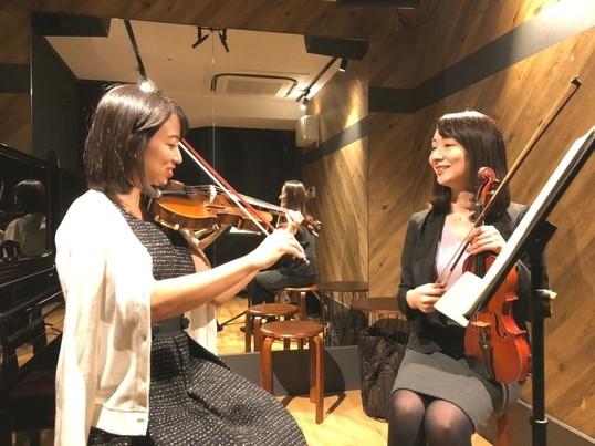 【新宿60分】マイペースに続けられる、大人のヴァイオリンレッスン♪の画像