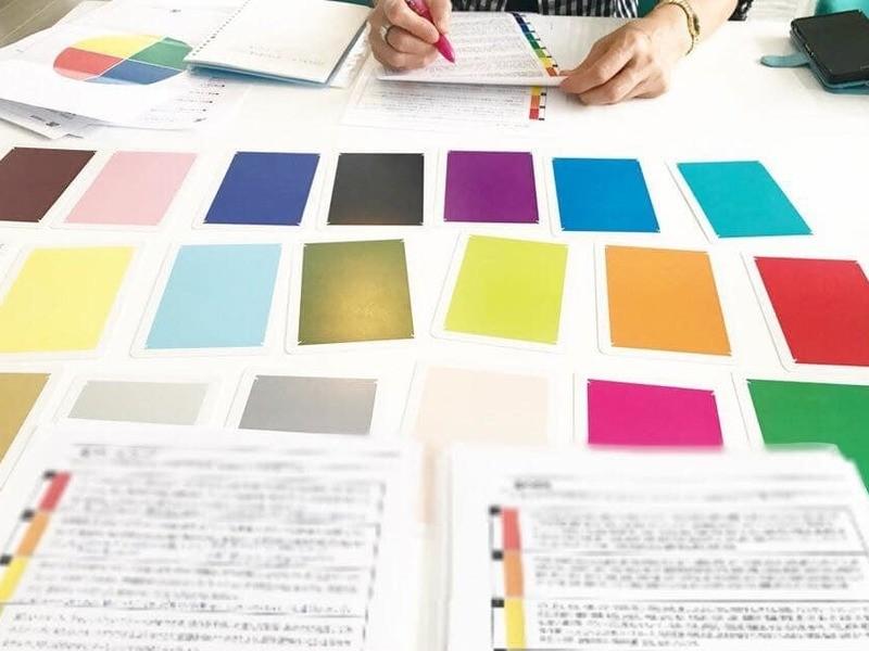 子育て中の方に好評!色彩心理セラピスト養成講座の画像