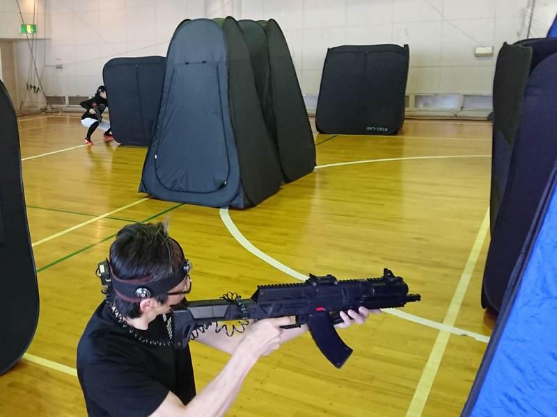 レーザー銃で撃ち合うスポーツ!K-LASH®でストレス発散!の画像