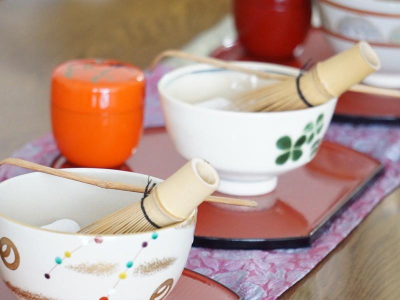 【対面】子連れOK!初めてでもできる美味しいお抹茶の点て方レッスンの画像
