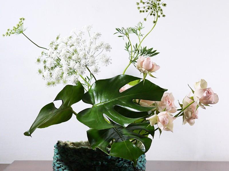 「花」で自分磨きを!草月流いけばな体験の画像