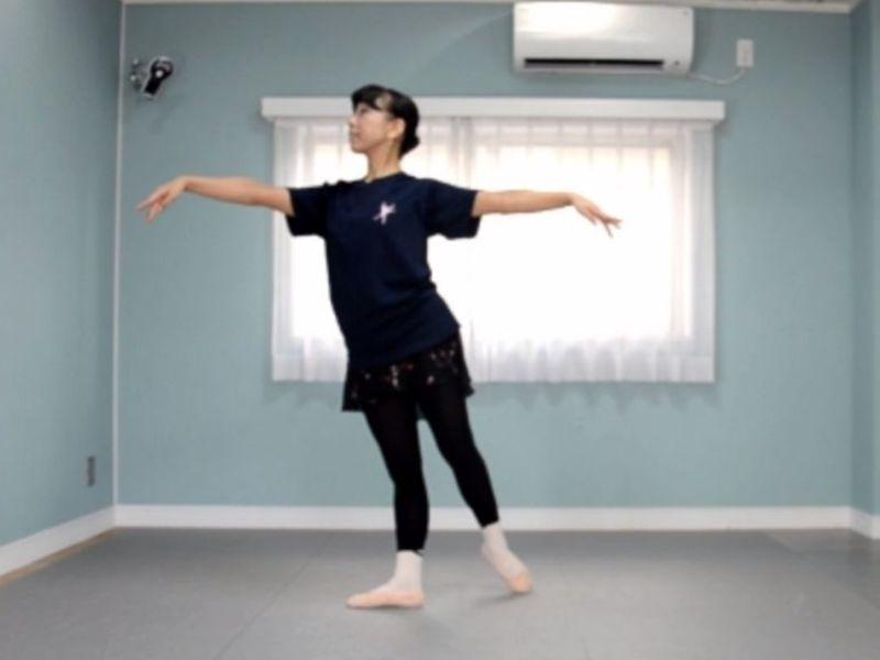【オンライン】バレエの基礎&正しい身体の使い方 『タンジュ編』の画像