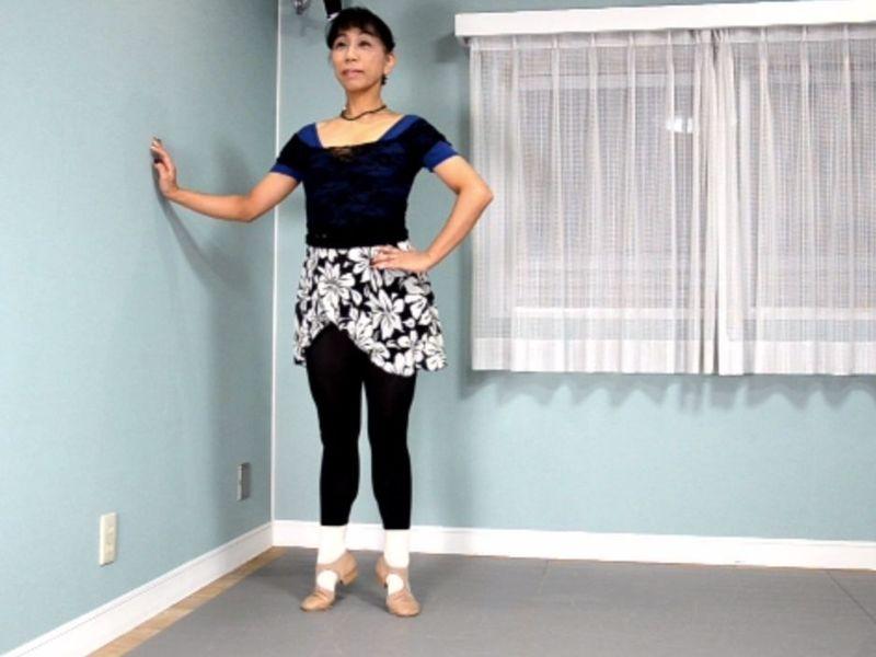 【対面・オンライン】バレエの基礎&正しい身体の使い方『ルルベ編』の画像