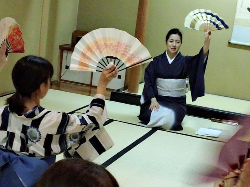 【初心者大歓迎】動きがみるみる美しくなる!日本舞踊を体験する!の画像