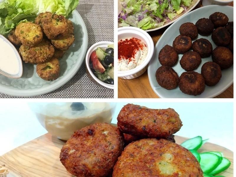オンライン「世界の料理」中近東:ファラフェルの画像