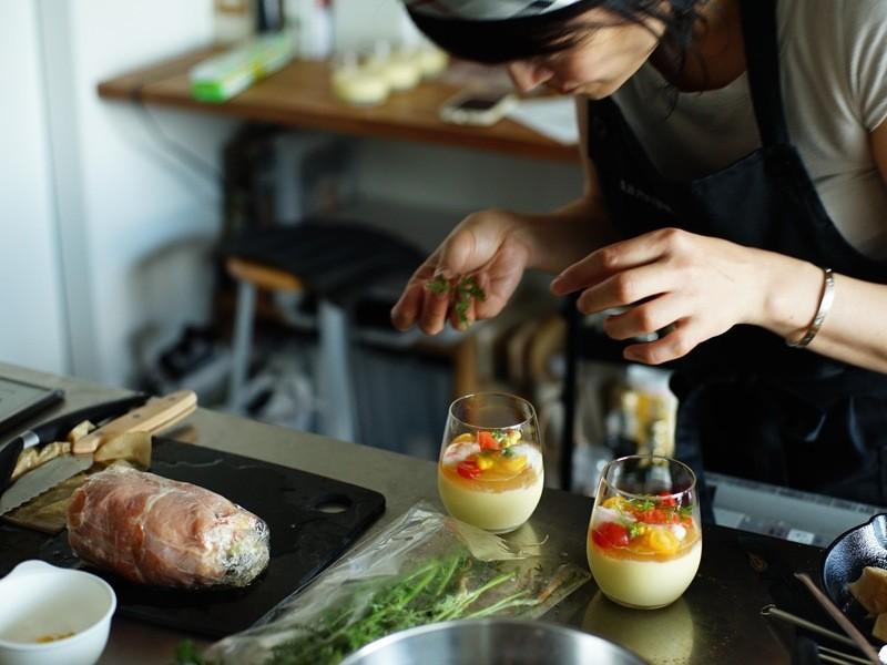 ご自宅がレストランに♪本格おもてなし料理を学ぶの画像