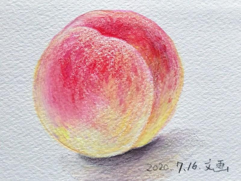 単発★2時間で描ける!色鉛筆だけで超リアルな絵の画像