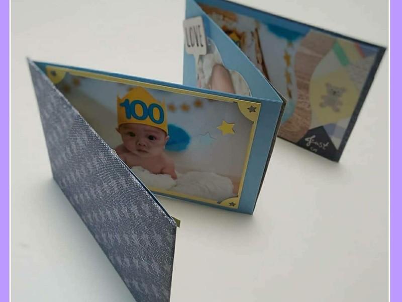 オンラインワークショップ!敬老の日に手作りアルバムをプレゼントの画像