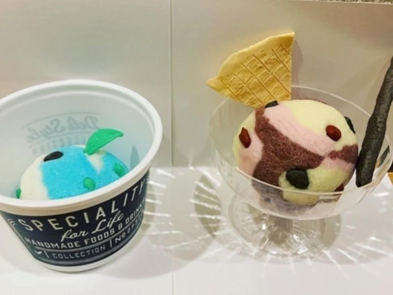 石けんクラフト~ゴートミルク入りのカップアイス~の画像