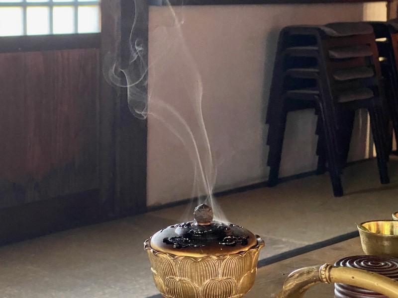 【zoom版】真言宗・仏教講座「お香とお灯明」の画像