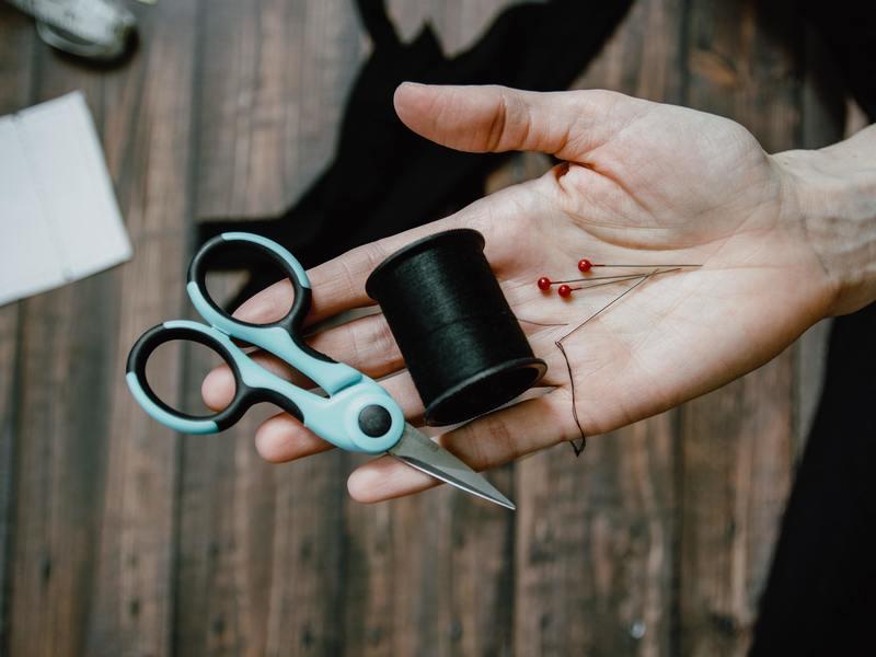 【オンライン裁縫講座】ボタン付けができるようになる講座の画像