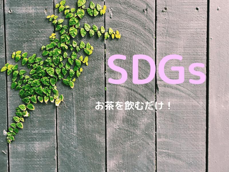 日本茶を楽しむ!飲むだけでSDGs、飲むだけで終わらない活用方の画像