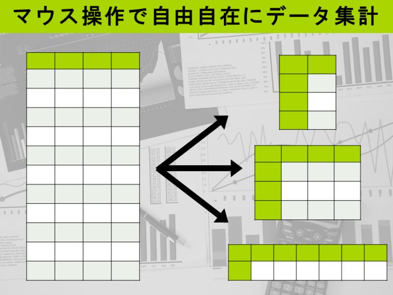 Excel講座 明日から仕事で使えるピボットテーブル【初心者向け】の画像
