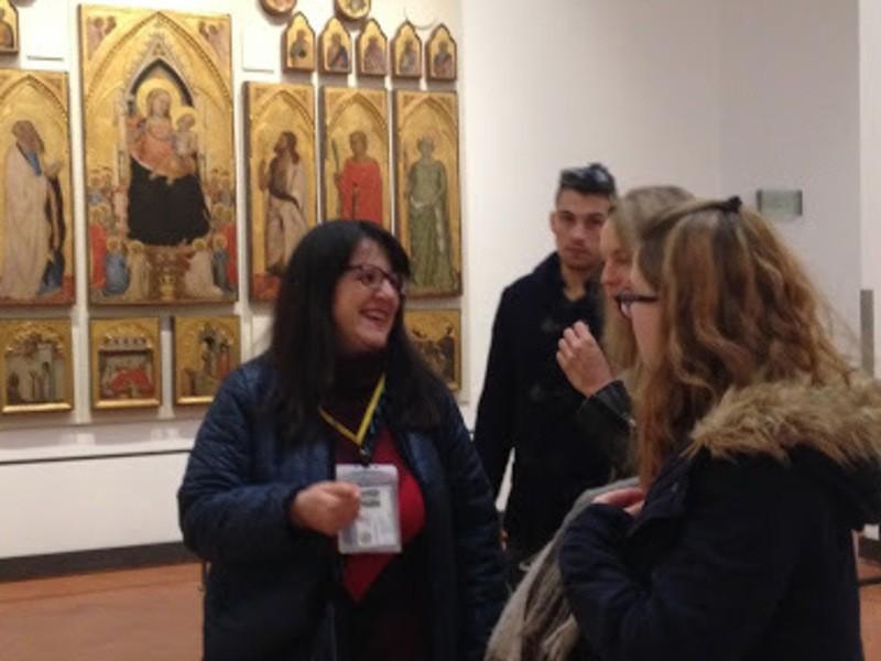 美術で学ぶ英会話☆海外美術館のキャプションを読もう!ミケランジェロの画像