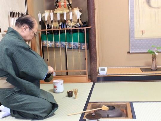着物を着て茶室で茶道の「いろは」を学ぶ!「着物で茶道」女子会の画像