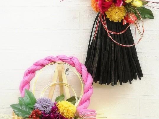オリジナルしめ縄飾りで新年を迎えようの画像