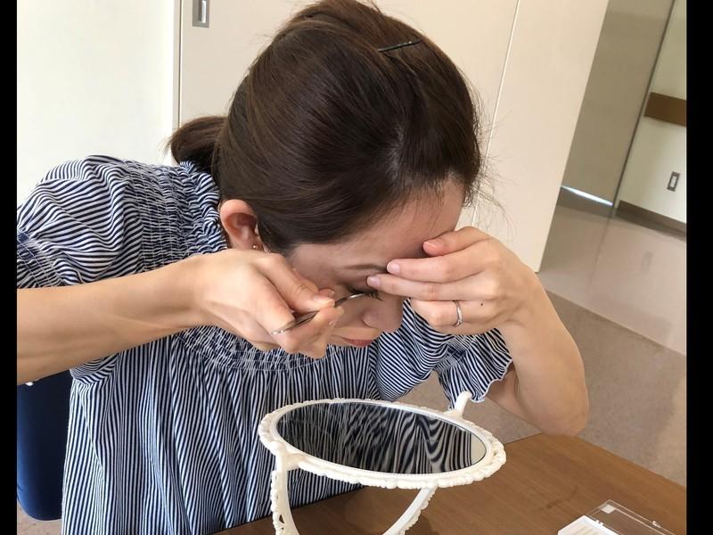 【宮崎セルフでマツエク】1:1で安心のプライベートレッスンの画像