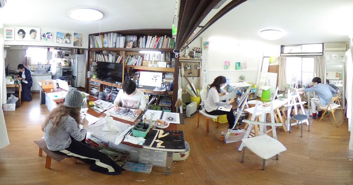 絵画教室ルカノーズ-絵画教室ルカノーズ教室ページの見出し画像