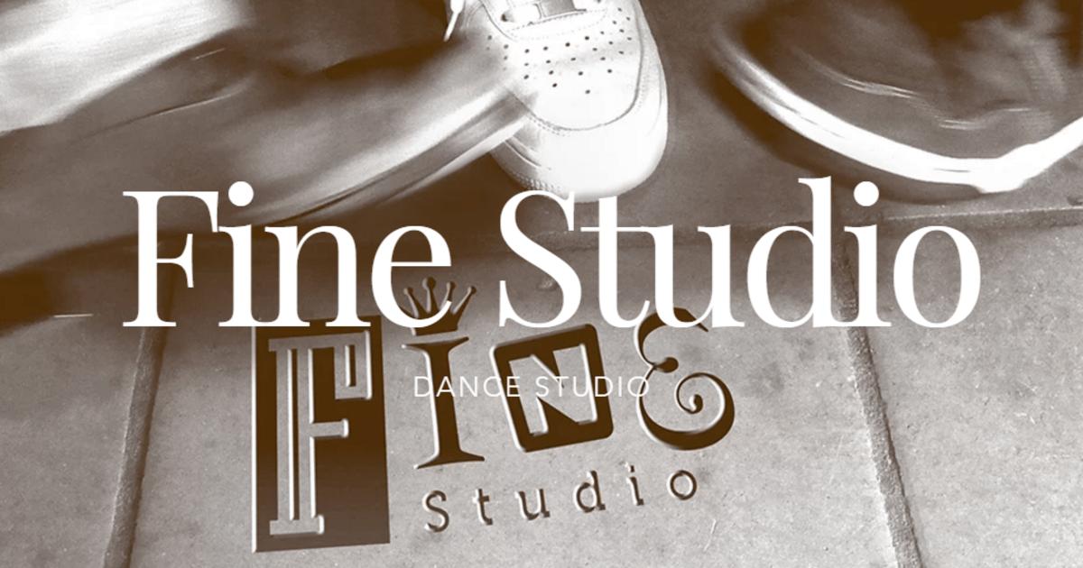 ファインスタジオ-川口のダンス&ボディメンテナンス@ファインスタジオ教室ページの見出し画像