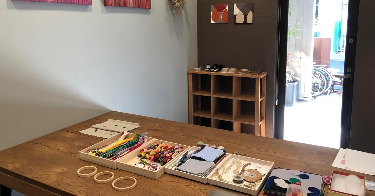 手しごとの小部屋 Mirisaの教室ページの見出し画像