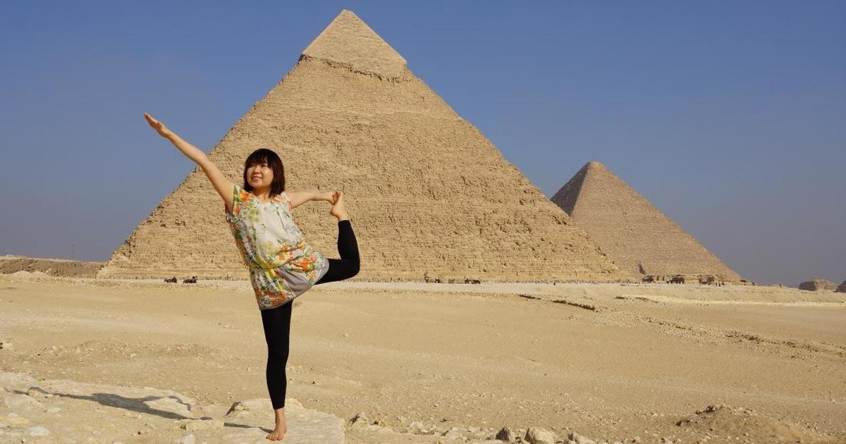 Pyramid YOGA international-英語とヨガで新しい世界を切り開きませんか?教室ページの見出し画像