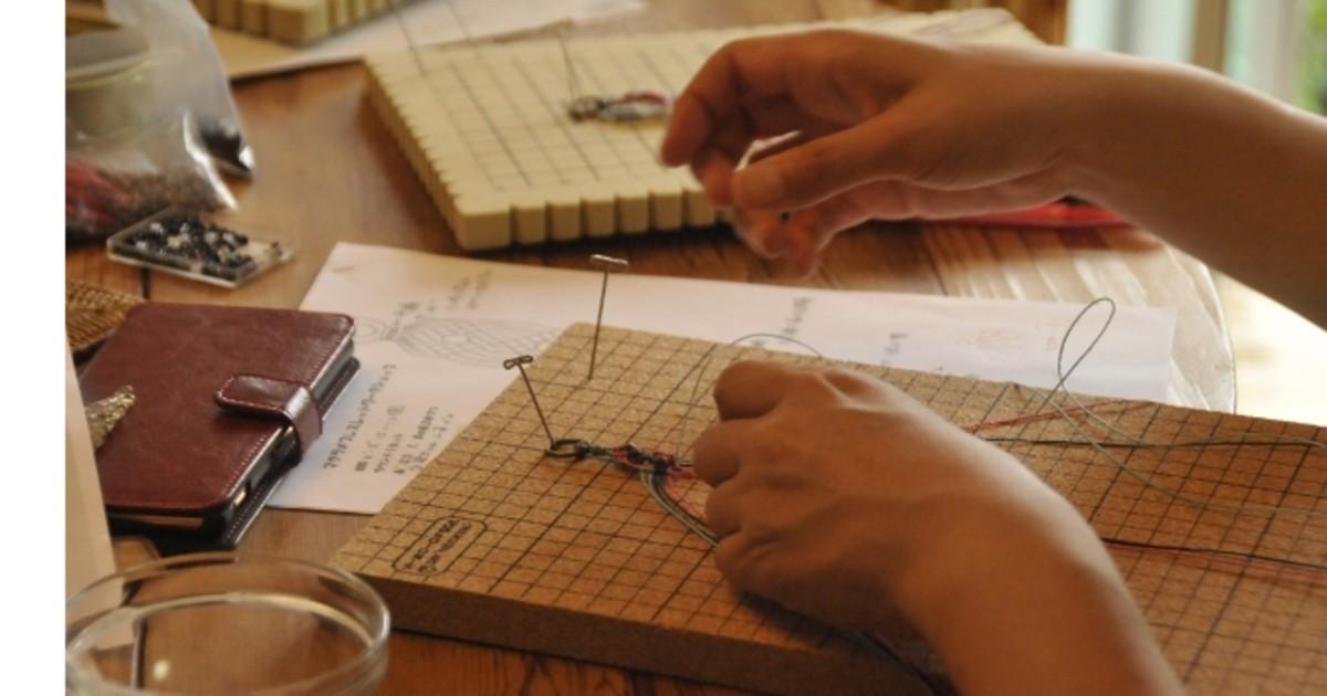マクラメ作家 MARUの教室ページの見出し画像