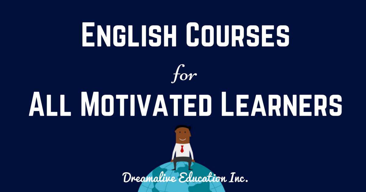 Dreamalive Education Inc.-Learn English with us! 教室ページの見出し画像