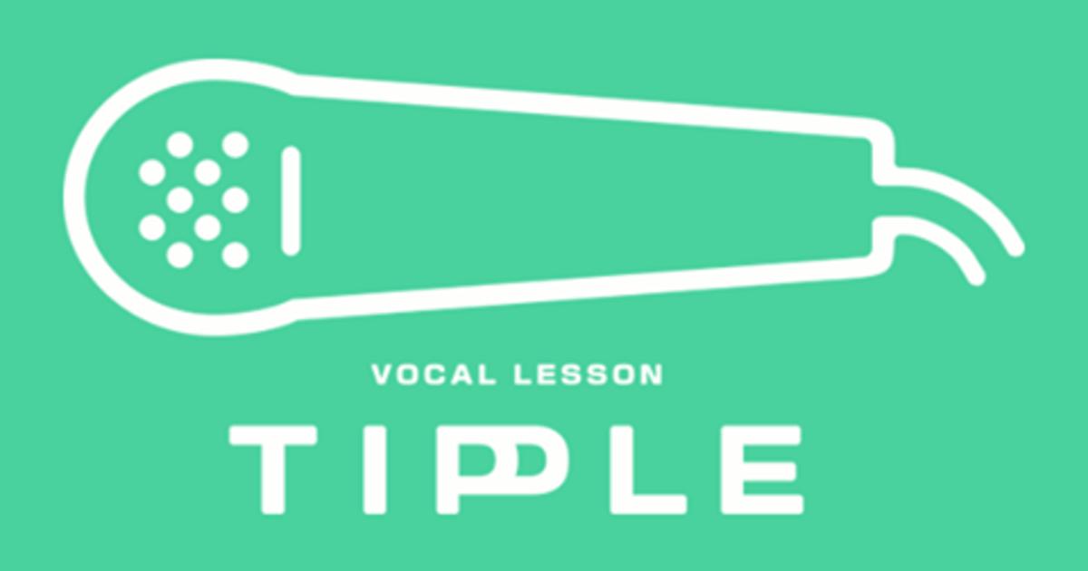 ボーカル教室TIPPLE-気軽にボイストレーニングを始めよう!教室ページの見出し画像