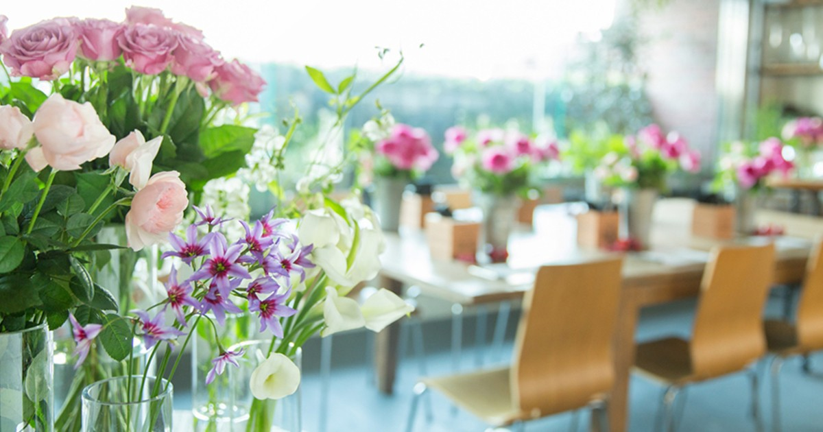 青山フラワーマーケットのフラワースクール「ハナキチ」-花や緑に囲まれたライフスタイルを楽しみませんか?教室ページの見出し画像