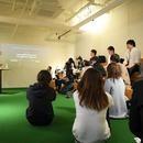 ディスカッションパートナーによる発想法教室の講座の風景