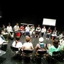 ジャンベ&ネイティブアメリカンフルート教室の講座の風景