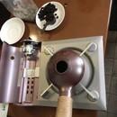 誰でもカンタン!コーヒー豆の焙煎体験の講座の風景