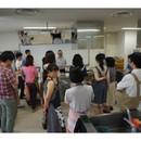 四分一耕のお魚教室の講座の風景
