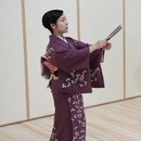 篠の会 地唄舞(日本舞踊)教室の講座の風景