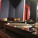 レコードでD jの講座の風景
