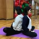 プレシャスワン~産前産後ヨガ・脳育・新生児フォト~の講座の風景