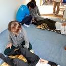 ASC他動的運動療法教室の講座の風景