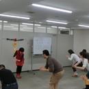 「心で感じる、身をもって知る」気功教室の講座の風景