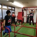 全身自体重トレーニングレッスン【PARKOUT】の講座の風景