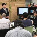 株式会社プラップル:コラボ・ワークショップの開催する講座の風景