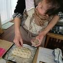 おうちパン教室 mom bakerの講座の風景